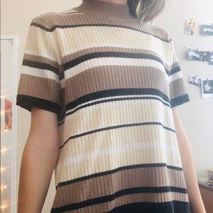 Laura Scott Striped Sweater